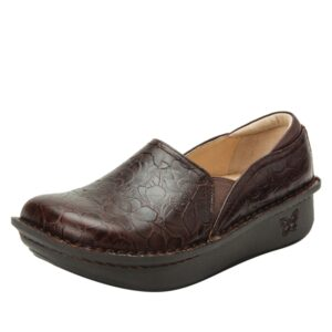 Brown debra Alegria nursing shoe